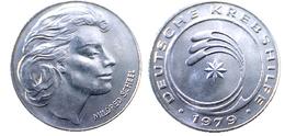 03480 GETTONE TOKEN JETON ADVERTISING TOKEN MILDRED SCHEEL DEUTSCHE KREBSHILFE - Allemagne