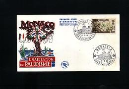 Monaco 1962 Malaria Eradication FDC - Krankheiten