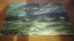 Cartolina: Fp Paesaggio Di Campagna Fine 800 Dest. La Spezia Viaggiata (a637) - Cartoline