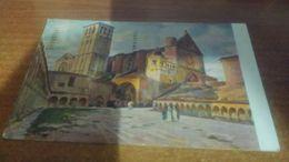 Cartolina: Fp Assisi Basilica Di S. Francesco  1923 Viaggiata (a637) - Cartoline