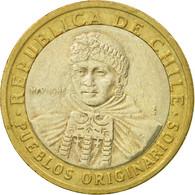 Monnaie, Chile, 100 Pesos, 2006, Santiago, TTB, Bi-Metallic, KM:236 - Chile