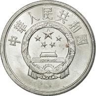 Monnaie, CHINA, PEOPLE'S REPUBLIC, 2 Fen, 1989, SUP, Aluminium, KM:2 - China