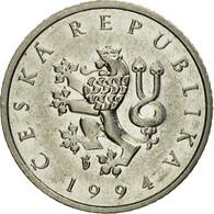 Monnaie, République Tchèque, Koruna, 1994, TTB+, Nickel Plated Steel, KM:7 - Tchéquie