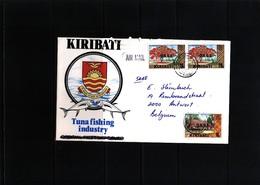 Kiribati  Interesting Airmail Letter - Kiribati (1979-...)