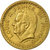Monnaie, Monaco, Franc, Undated (1943), Poissy, TB, Cupro-Aluminium, Gadoury:MC - Monaco