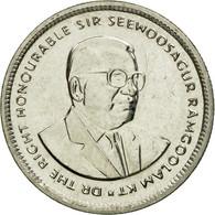 Monnaie, Mauritius, 20 Cents, 2001, TTB, Nickel Plated Steel, KM:53 - Maurice