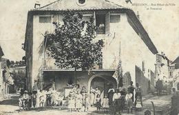 DPT 84 MERINDOL  Rue Hôtel De Ville Et Fontaine CPA TBE - France