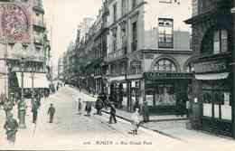 206  ROUEN - Rue Grand Pont (date 1914) - Rouen
