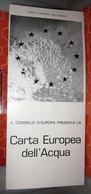 CARTA EUROPEA DELL'ACQUA - Vecchi Documenti