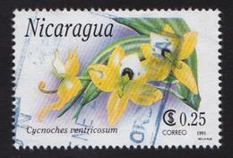 Nicaragua 1991, Orchids, V2, Used - Nicaragua