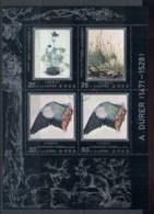 South East Asia 1979 Paintings, Durer Sheetlet CTO - Korea, North