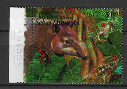 Mexico 1996 Animals  Frogs Bugs Insects Reptiles 1v MNH** - Insekten
