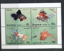 South East Asia 1994 Goldfish MS CTO - Korea, North