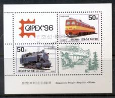 South East Asia 1996 Trains Capex MS CTO - Korea, North