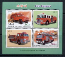 South East Asia 2011 Fire Trucks MS MUH - Korea, North