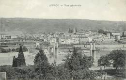 """/ CPA FRANCE 43 """"Aurec, Vue Générale """" - France"""