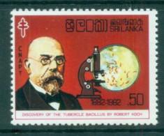 Sri Lanka 1982 TB Bacillus Centenary MUH Lot82441 - Sri Lanka (Ceylon) (1948-...)