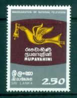 Sri Lanka 1982 Television Inauguration MUH Lot82440 - Sri Lanka (Ceylon) (1948-...)