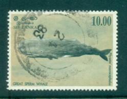 Sri Lanka 1983 Great Sperm Whale 10r FU Lot82449 - Sri Lanka (Ceylon) (1948-...)