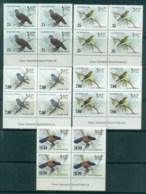 Sri Lanka 1983-88 Birds Imprint Blks 4 MUH Lot82502 - Sri Lanka (Ceylon) (1948-...)