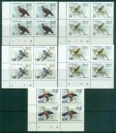 Sri Lanka 1983-88 Birds Traffic Light Blks 4 MUH Lot82503 - Sri Lanka (Ceylon) (1948-...)