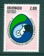 Sri Lanka 1985 Obstetrics & Gynecology Conf. MUH Lot82447 - Sri Lanka (Ceylon) (1948-...)