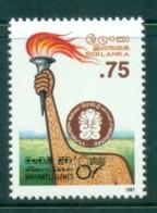 Sri Lanka 1987 Mahaweli Games MUH Lot82445 - Sri Lanka (Ceylon) (1948-...)