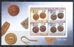 Sri Lanka 2001 Indigenous Coinage MS MUH - Sri Lanka (Ceylon) (1948-...)