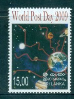 Sri Lanka 2009 World Post Day MUH Lot83086 - Sri Lanka (Ceylon) (1948-...)