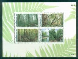 Thailand 1996 Royal Forest Development MS MUH Lot82140 - Thailand