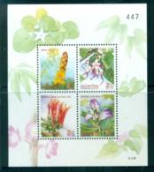 Thailand 1997 New Year Flowers MS MUH Lot82117 - Thailand