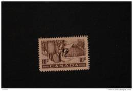 Canada O26 Fur Trade Overprinted Official G HINGED 1950-51 A04s - Officials