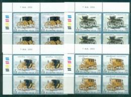 Thailand 2009 Coaches, Transport Blk 4 MUH Lot82074 - Thailand