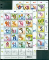 Thailand 2011 Alphabet 2xMS MUH Lot82085 - Thailand