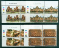 Thailand 2011 Heritage Conservation Temples Blk 4 MUH Lot82087 - Thailand