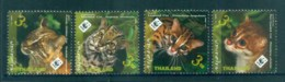 Thailand 2011 WWF Wild Cats MUH Lot82116 - Thailand