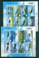 Thailand 2012 RTAF Airforce 2xSheetlet MUH Lot82093 - Thailand