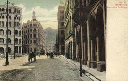 China, HONG KONG, Alexandra Buildings, Tram (1899) Postcard - China (Hong Kong)