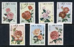 Vietnam 1988 Flowers, Roses CTO - Viêt-Nam