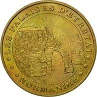 France, Jeton, 76/ Falaises D'Etretat, 2003, Monnaie De Paris, TTB, Cupro-nickel - Other