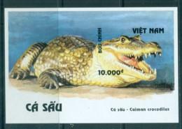 Vietnam 1994 Crocodiles IMPERF MS MUH Lot83763 - Vietnam
