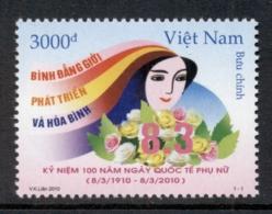 Vietnam 2010 Women's Day MUH - Vietnam