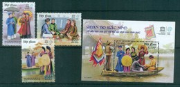 Vietnam 2011 Quan Ho Bac Ninh Folk Songs + MS MUH Lot82602 - Vietnam