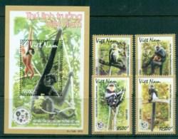 Vietnam 2014 Vietnamese Primates + MS MUH Lot82982 - Vietnam