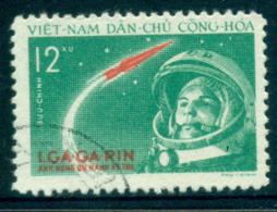 Vietnam North 1961 12xu Yuri Gagarin's Space Flight FU Lot33869 - Vietnam