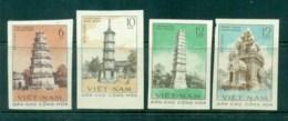 Vietnam North 1961 Ancient Towers IMPERF MUH Lot83706 - Vietnam
