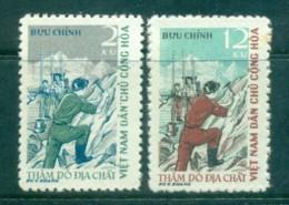 Vietnam North 1961 Geological Exploration MUH Lot83704 - Vietnam