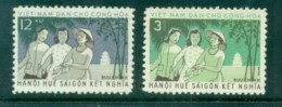 Vietnam North 1961 Hanoi, Hue & Saigon MUH Lot83703 - Vietnam