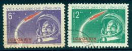 Vietnam North 1961 Yuri Gagarin's Space Flight FU Lot33868 - Vietnam