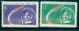 Vietnam North 1961 Yuri Gagarin's Space Flight MUH Lot33867 - Viêt-Nam